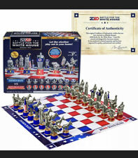 2020 Battle For White House Chess Set Democrats VS Republicans RBG Ruth Bader