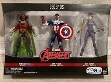 Marvel Legends Vision Sam Wilson Captain America Kate Bishop TRU Exclusive 3 Pk