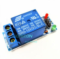5PCS New 12V one 1 Channel Relay Module With optocoupler For PIC AVR DSP ARM