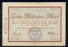 GERMANY 50 BILLION MARK ROVENSBURG BANKNOTE NOTGELD 1923 VF