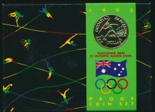 Australia 1992 RAM 6 coin Proof Set Olympics Cat $75