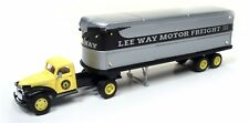 Classic Metal Works HO 1941-46 Chevy Tractor/Trailer Set Lee Way  CMW31173-NEW
