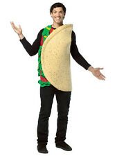 Adult Taco Mexican Funny Food Western Fancy Dress Costume Mens Ladies Unisex BN
