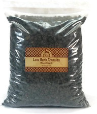 Midwest Hearth Natural Lava Rock Granules For Gas Log Sets And Fireplaces (5-Lb