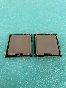 LOT OF 2 INTEL XEON CPU QC E5620 12M CACHE - 2.40 GHZ - 5.86 GT/S - SLBV4