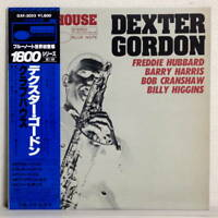 DEXTER GORDON - CLUBHOUSE - JAPAN BLUE NOTE LP GXF-3055 Obi Insert