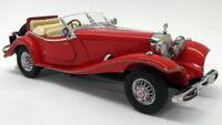 Franklin Mint 1/24 Scale Diecast - 500k Mercedes 500K Special Roadster Red