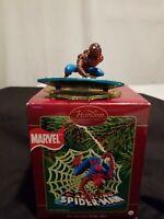 Marvel Comics Spider-Man Carlton Cards Heirloom Christmas Holiday Ornament