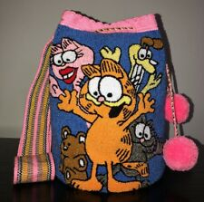 One Time Edition 100% Wayuu Mochila Bag Large Size Garfield Collectible tapestry