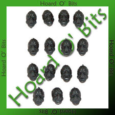 GREATCLOAK TROOPS BITS - 15x ALIEN HEADS - Wargames Fac