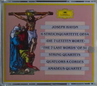 JOSEPH HAYDN-3 CD - 6 Streichquartette OPP 51-64 With Amadeus Quartet-LIKE NEW