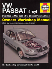 Haynes Workshop Manual VW Passat 2000-2005 Petrol & Diesel Service & Repair