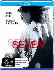 SEVEN BLU RAY - NEW & SEALED MORGAN FREEMAN, BRAD PITT, DAVID FINCHER, PALTROW