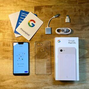 BUDNLE Fully Unlocked Google Pixel 3XL 64GB Pink (CDMA+GSM)