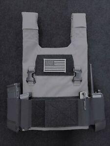 Low Vis Slick 10x12 Plate Carrier | 500D Cordura | Various Options | USA Made