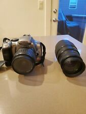 New listing Canon Ds6041 Digital Rebel Camera + Sigma 70-300mm lens
