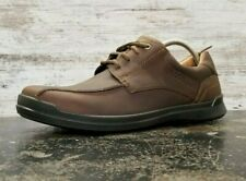 Mens Ecco Oxford Sneaker Shoes SZ 10 44 M Brown Leather New - Other -Read