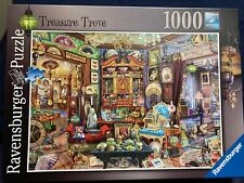Ravensburger 1000 Piece Jigsaw Puzzle Treasure Trove Completed Once From New