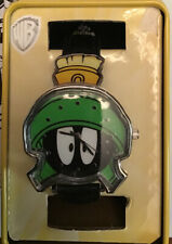 Looney Tunes Marvin the Martian Watch NWT Black Band Analog WB with tin BLS