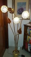 FLOOR LAMP GOLD TOMMASO  BARBI STYLE ANNI 80