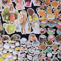 Korean Diary Label Deco Stickers Cartoon Cute Scrapbooking Books DIY Tags OS