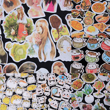 Korean Diary Label Deco Stickers Cartoon Cute Scrapbooking Books DIY Tags Gift F