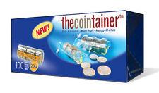 NUEVO!! THECOINTAINER CAJA 100 BLISTERS PORTAMONEDAS DE 0'20 EURO (11406)