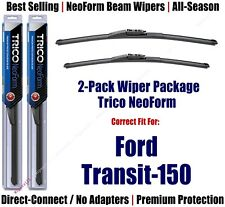 2-Pack Super-Premium NeoForm Wipers fit 2019+ Ford Transit-150 - 162915/2015