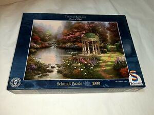 1000 Pieces Puzzle - Thomas Kinkade - Am Pond - Schmidt Games