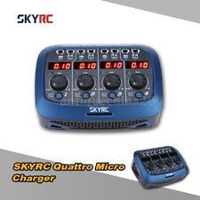 SKYRC Quattro Micro 4*4W 4*1S Lipo Battery Charger Fr RC Quadcopter US Plug V3V2