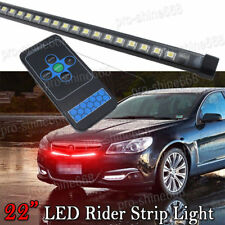 """22""""  56CM HOT Red Color LED 48SMD Knight Rider Strip lights Grille Waterproof"""