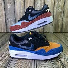 Nike Air Max 1 (GS) Swipa DeAaron Fox Orange Blue Red Black CJ9888-001 Size 4Y