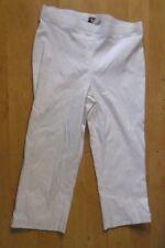 Regatta Woman BNWT Plus Size 16 White Crop Pant with Leg Feature RRP $ 59.95