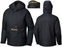COLUMBIA CHALLENGER PULLOVER JACKET Black & Gold - 014 Men's Jacket