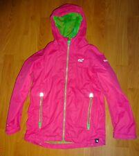 Regatta Allcrest kids waterproof jacket, Hot Pink