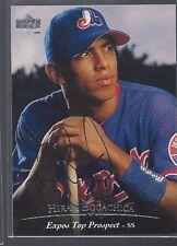 Montreal Expos HIRAM BOCACHICA Signed Card