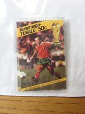 1986 World Cup Stamp: Nanumea-Tuvalu - Portugal Player