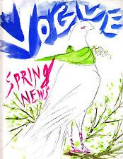 VOGUE March 1 1949 Vertes Hats Horst Coffin Penn Lisa Fonssagrives coiffure