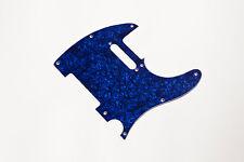 Telecaster Pickguard Blue Pearl 3Ply - Golpeador Tele Azul Perlado tres capas