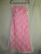 JIM HJELM Occasions Size 10 Pink Dress Made in USA Manufacted in NY New with Tag