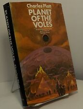 Planet of the Voles by Charles Platt - First edition