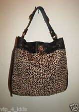 Juicy Couture Robertson Haircalf Leather Large Tote Daydreamer bag New $348+