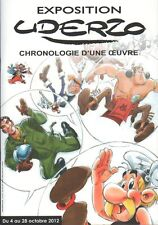UDERZO ASTERIX CHRONOLOGIE D'UNE OEUVRE CATALOGUE D'EXPEDITION