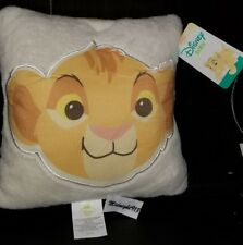 "NEW DISNEY THE LION KING SIMBA  DECORATIVE PILLOWS 10"" x 10"""