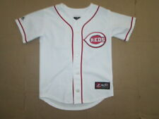 Boys Majestic CINCINNATI REDS PHILLIPS #4 stitched jersey sz S Sm