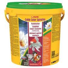 10 Liter farbverstärkendes Fischfutter sera goldy color spirulina - Fischfutter
