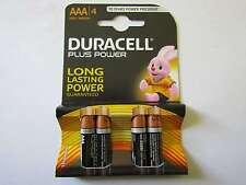 20x AAA PLUS POWER ALCALINE BATTERIA DURACELL ar1740