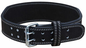 Strength Shop 8mm Weightlifting Double Prong Buckle Belt - Tapered Crossfit