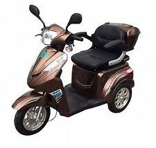 Seniorenmobil Dreiradscooter Eco Engel 500 Elektro Mobil braun met. 650 Watt