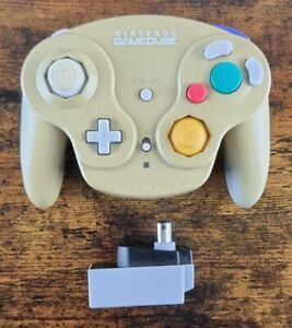 Official Nintendo Gamecube Wavebird Wireless Controller With Receiver Dongle